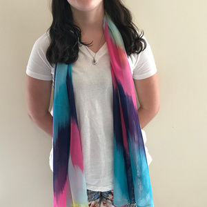 Accessories - New Scarf multi color sheer